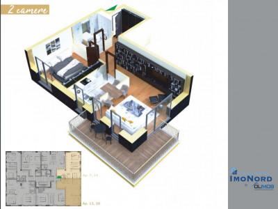 Padure Baneasa vanzare apartament 2 camere Sisesti