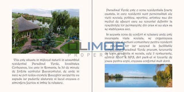 Vila absolut uluitoare in Paradisul Verde