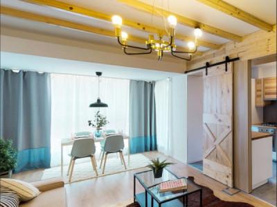 Apartament cu 3 camere, logie, etaj 2/4, Bloc nou P+4 Etaje, Bucurestii noi