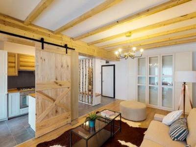 Apartament cu 2 camere decomandate, Balcon, Etaj 4/4, Bloc Nou, Bucurestii Noi