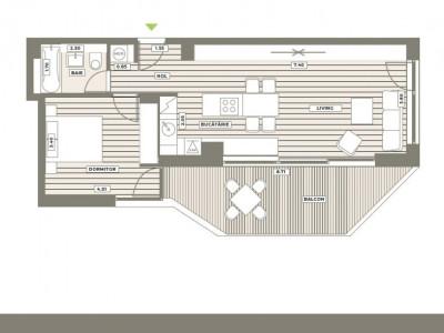 2 camere cu terasa generoasa Your Next Home Aviatiei