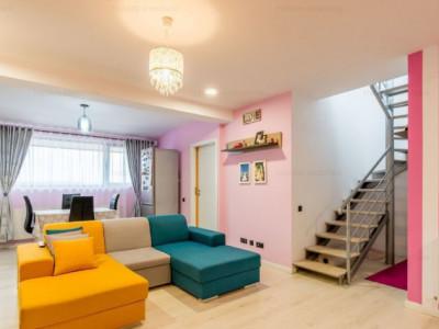 Apartament cu 4 camere, mobilat si utilat si parcare, Buna Ziua