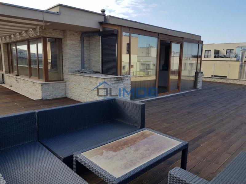 Terasa de 140 mp a unui penthouse cu 3 camere din Herastrau!