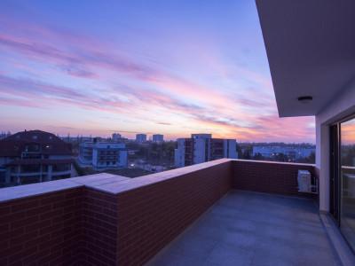 Baneasa Sisesti inchiriere 3 camere cu terasa si view